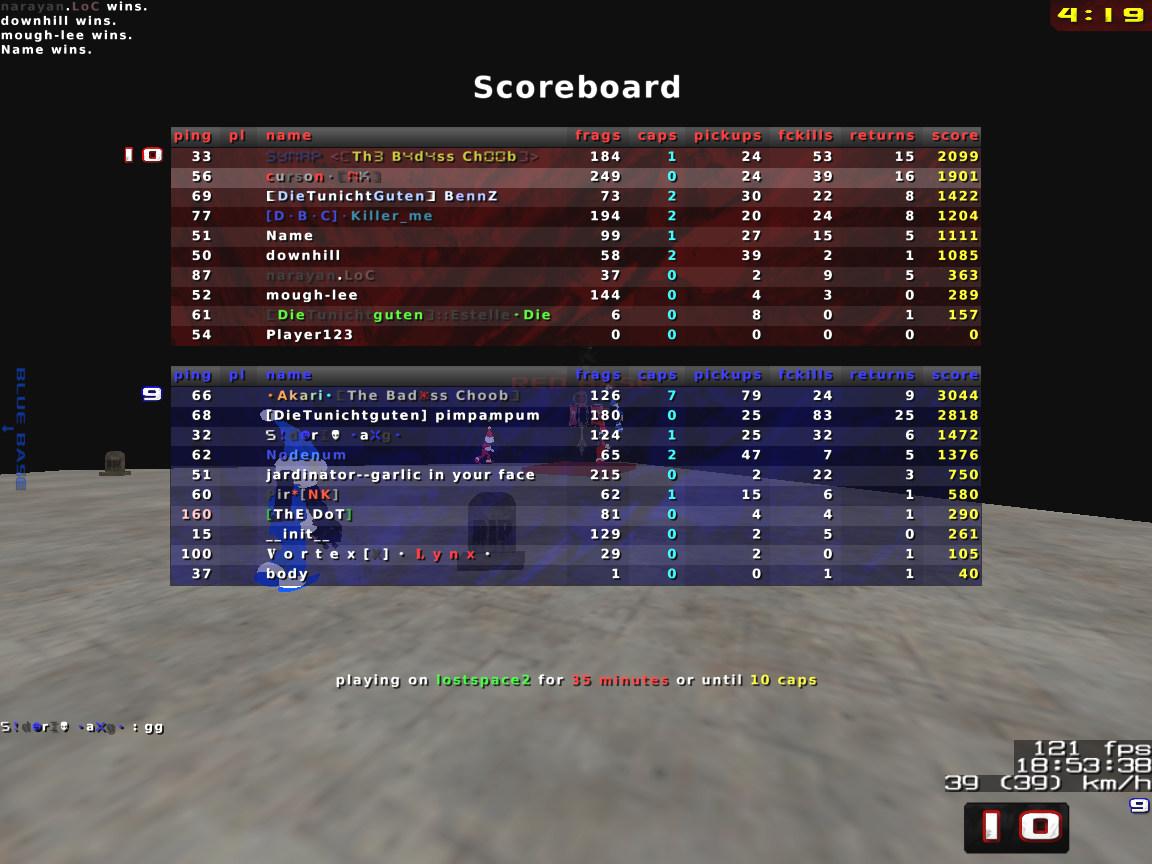 EPIC CTF game on DTG ;) Nexuiz000096